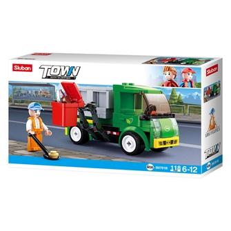 Image of Sluban - Garbage truck (8719558071678)