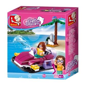 Image of Sluban Girl's Dream Hovercraft (8719558070527)