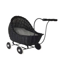 Smallstuff - Doll Stroller - Sort