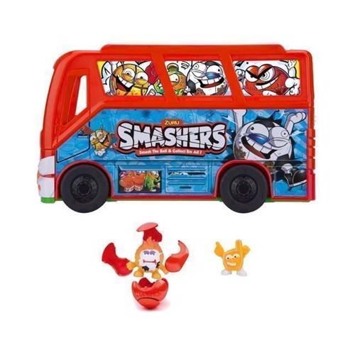 Image of   Smashers, fodbold team bus