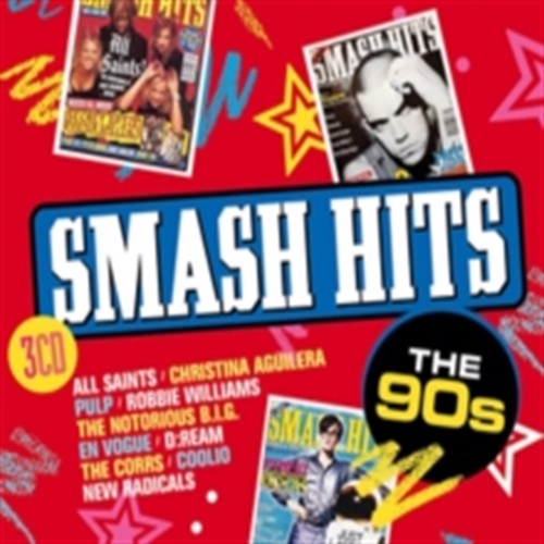 Image of Smash hits the 90s CD