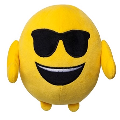 Image of Smiley Solbriller Pude (7296149157696)