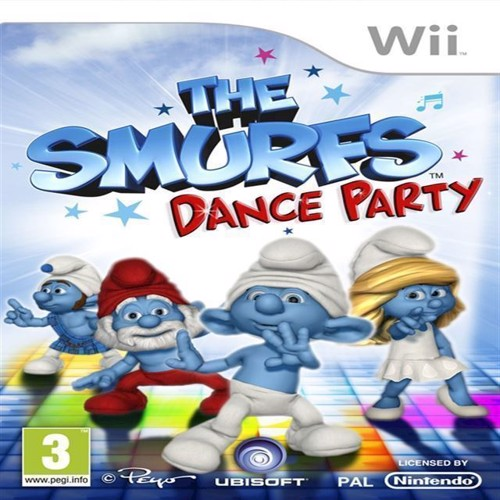 Image of Smølferne, Dance Party, Nordic (3307219949272)