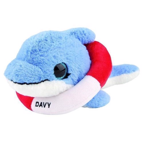 Image of   Bamse, Snukis 18 cm, delfinen Davy