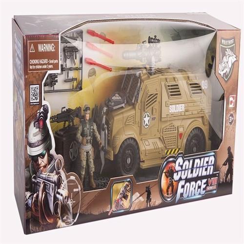 Image of Soldier Force - VIII Sand Cougar X Transporter Sæt (4893808210056)