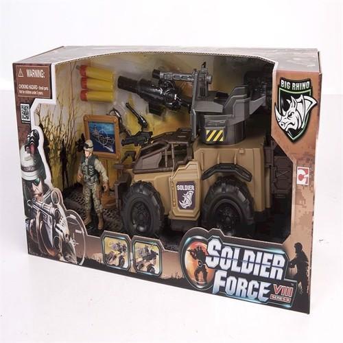 Image of Soldier Force - Rhino Dasher køretøjssæt (4893808210650)