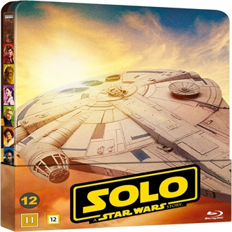 Image of Solo: A Star Wars Story - Limited Steelbook (Blu-Ray) (8717418529147)