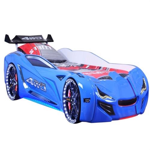 Image of Speedy Spoiler 4Wd Bilseng Med Led Lys Og Lyd Pakke Blå (5712548183026)