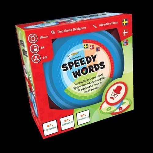 Speedy Words  brætspil Nordic