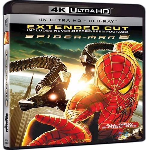Image of Spiderman 2 4K Blu-Ray (7330031001879)