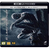 SpiderMan 3 4K Blu-ray