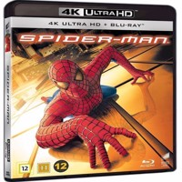 Spiderman 4K Blu-ray