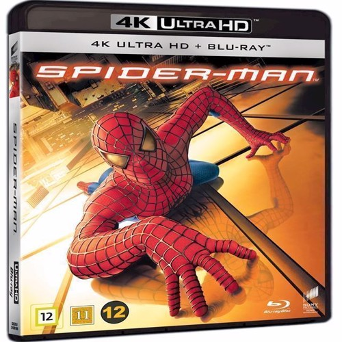 Image of Spiderman 4K Blu-Ray (7330031001862)