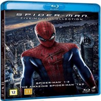 SpiderMan 5 Movie Collection Blu-ray