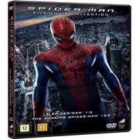 SpiderMan 5 Movie Collection  DVD