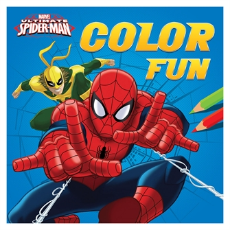Image of Spiderman Color Fun (9789044747362)