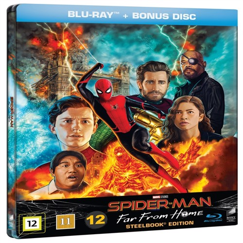 Image of Spider-man: Far from home - Steelbook, Blu-ray (7330031007062)