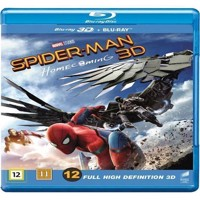 SpiderMan Homecoming 3D Blu-ray