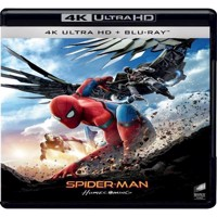 SpiderMan Homecoming 4K Blu-ray