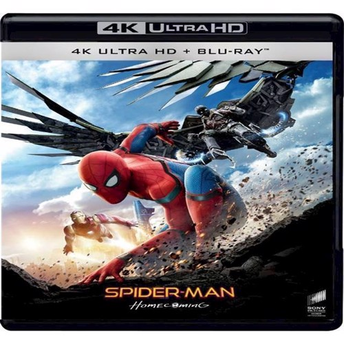 Image of Spiderman Homecoming 4K Blu-Ray (7330031003897)