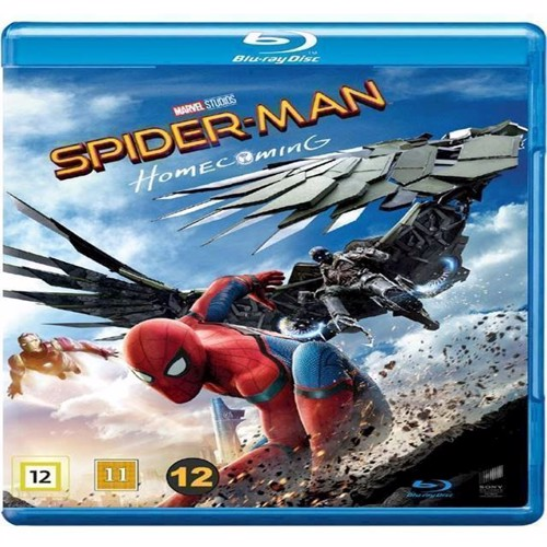 Image of SpiderMan Homecoming Blu-ray (7330031003705)