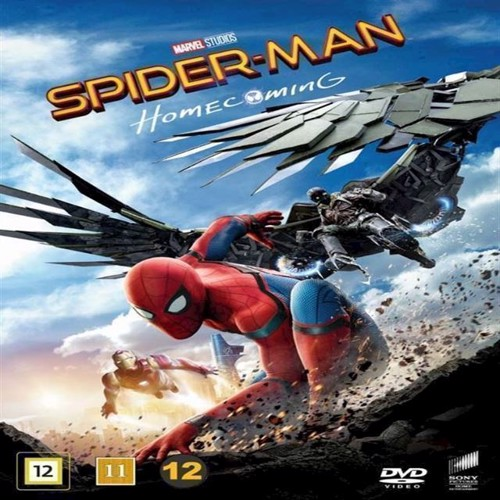 Image of SpiderMan Homecoming DVD (7330031003682)