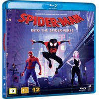 SpiderMan Into, The Spider Verse, Blu-ray
