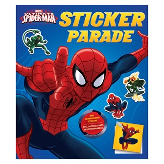 Image of Spiderman Sticker Parade (9789044747379)