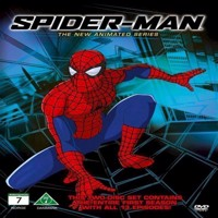SpiderMan The New Animated Series  DVD