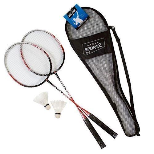 Image of Badmintonsæt i taske