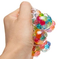 Squeeze Bubble Ball with Water Pearls