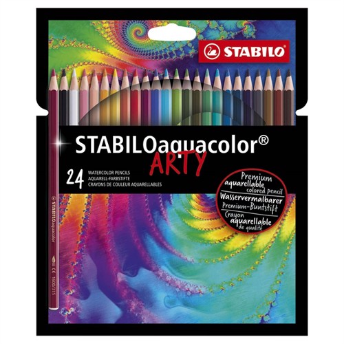 Image of Stabilo, Aquacolor, 24 stk (4006381547208)