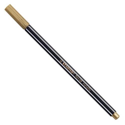 Image of STABILO Felttip pen Metallic guld (4006381530194)