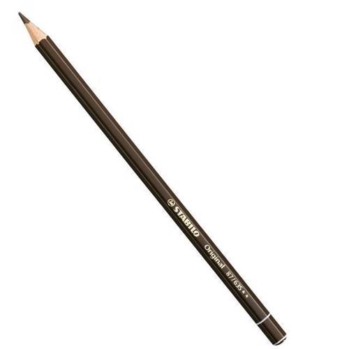 Image of Stabilo Original blyant Bister gul brun (4006381117746)