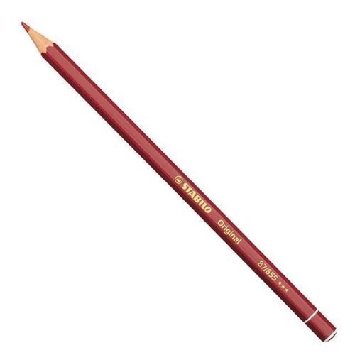 Image of Stabilo Original blyant Deeply Engelsk rød (4006381117760)