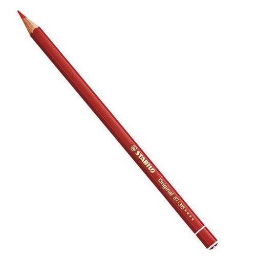 Image of Stabilo Original blyant Permanent dyb rød (4006381117531)