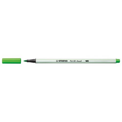 Image of Stabilo Pen 68 Brush 33 Lysegrøn (4006381545822)
