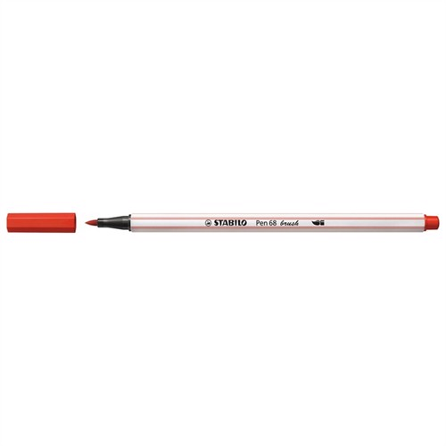 Image of Stabilo Pen 68 Brush 48 Rød (4006381545587)