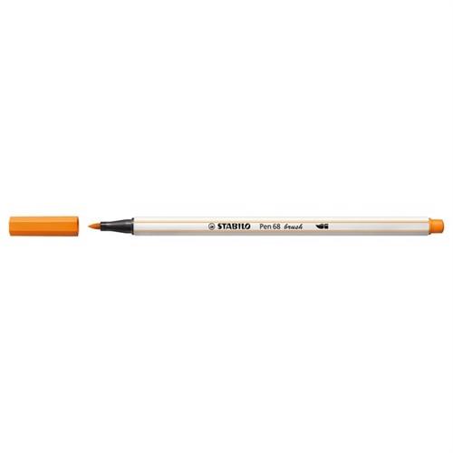 Image of Stabilo Pen 68 Brush 54 Orange (4006381545556)