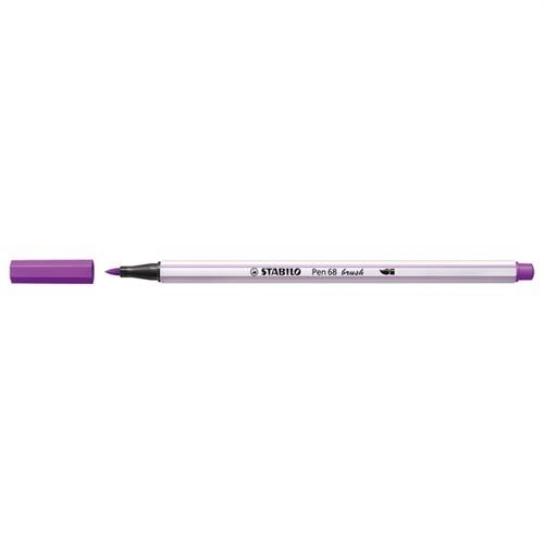 Image of Stabilo Pen 68 Brush 58 Lilac (4006381545679)