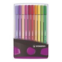 Stabilo pen 68 color parade pink, 20 stks