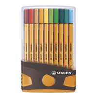 Stabilo point 88 color parade orange, 20 stk