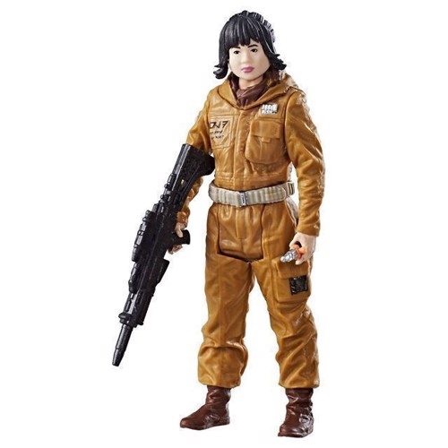 Image of   Star Wars - Force Link Figur Resistance Tech Rose