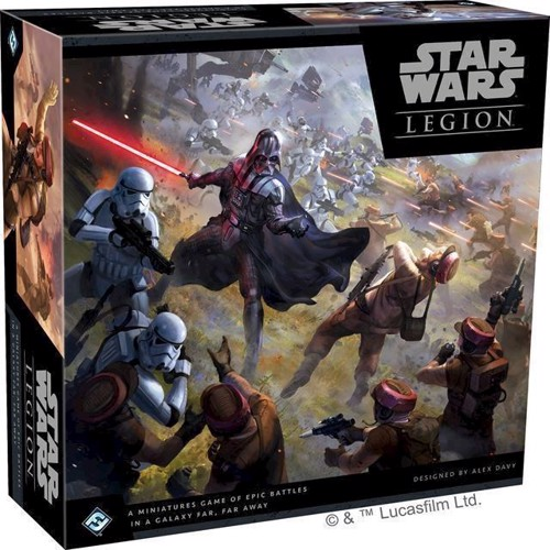 Image of   Star Wars - Legion - Core sæt (FSWL01)