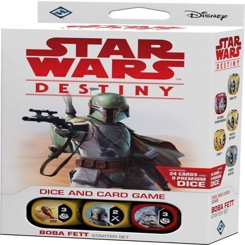 Image of   Star Wars Destiny - Start Sæt - Boba Fett