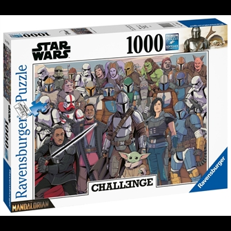Image of Star Wars - Challenge Baby Yoda Puzzle (1000 pieces) (PEG6770) (4005556167708)