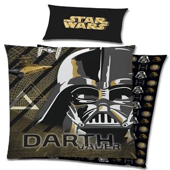 Image of Star Wars Darth Vader Sengetøj 100 Procent Bomuld