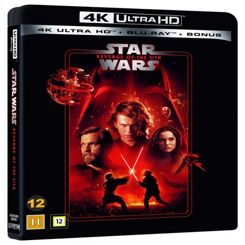 Image of Star Wars: Episode 3 - REVENGE OF THE SITH DVD (7340112752514)
