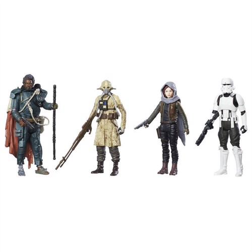Image of Starwars 4 Figurer Pakke