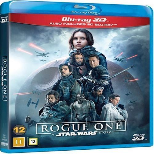 Image of   Star Wars Rogue One A Star Wars Story 3D Blu-Ray